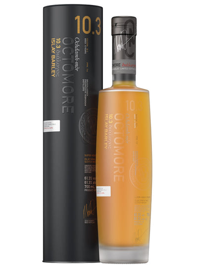 Bruichladdich Octomore 10.3 Islay Single Malt Scotch Whisky 700mL