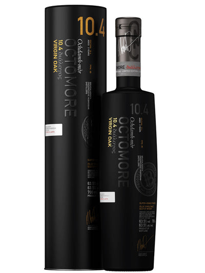 Bruichladdich Octomore 10.4 Islay Single Malt Scotch Whisky 700mL