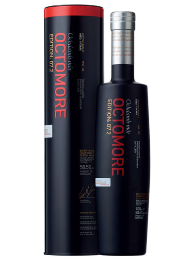 Bruichladdich Octomore 7.2 Islay Single Malt Scotch Whisky 700mL