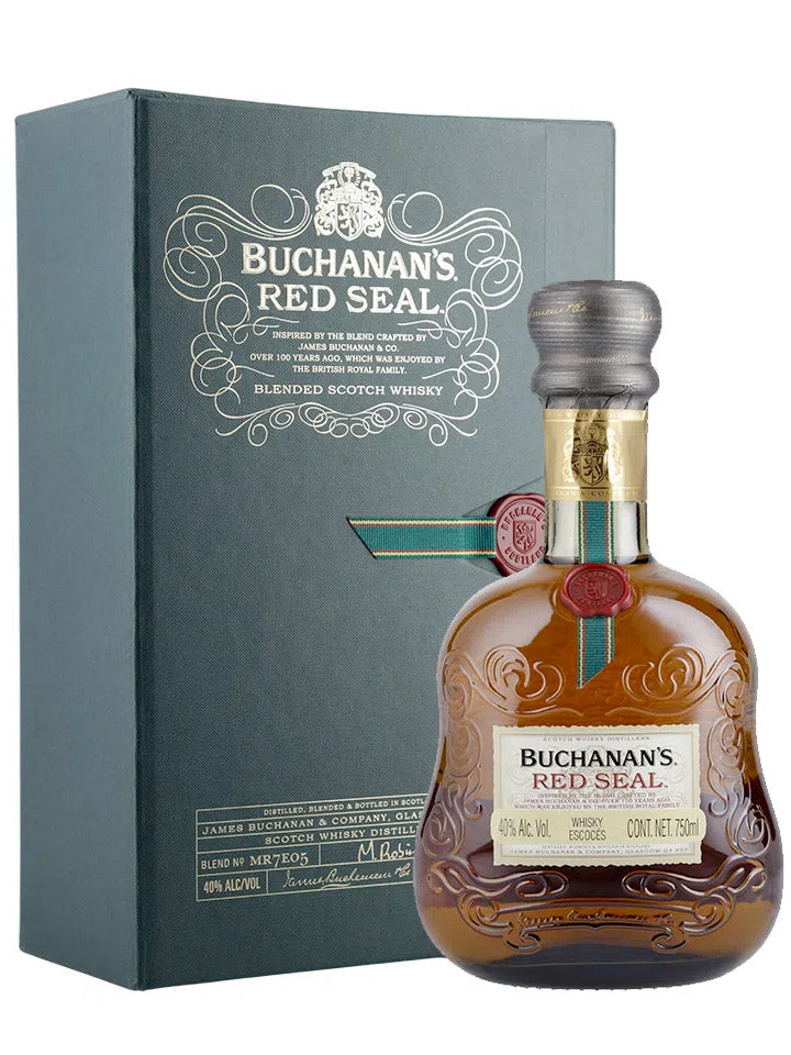 Buchanan's Red Seal 21 Year Old Scotch Whisky 750mL