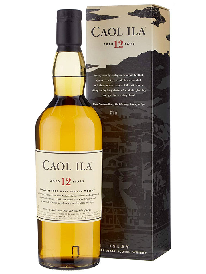 Caol Ila 12 Years Old Single Malt Scotch Whisky 1L