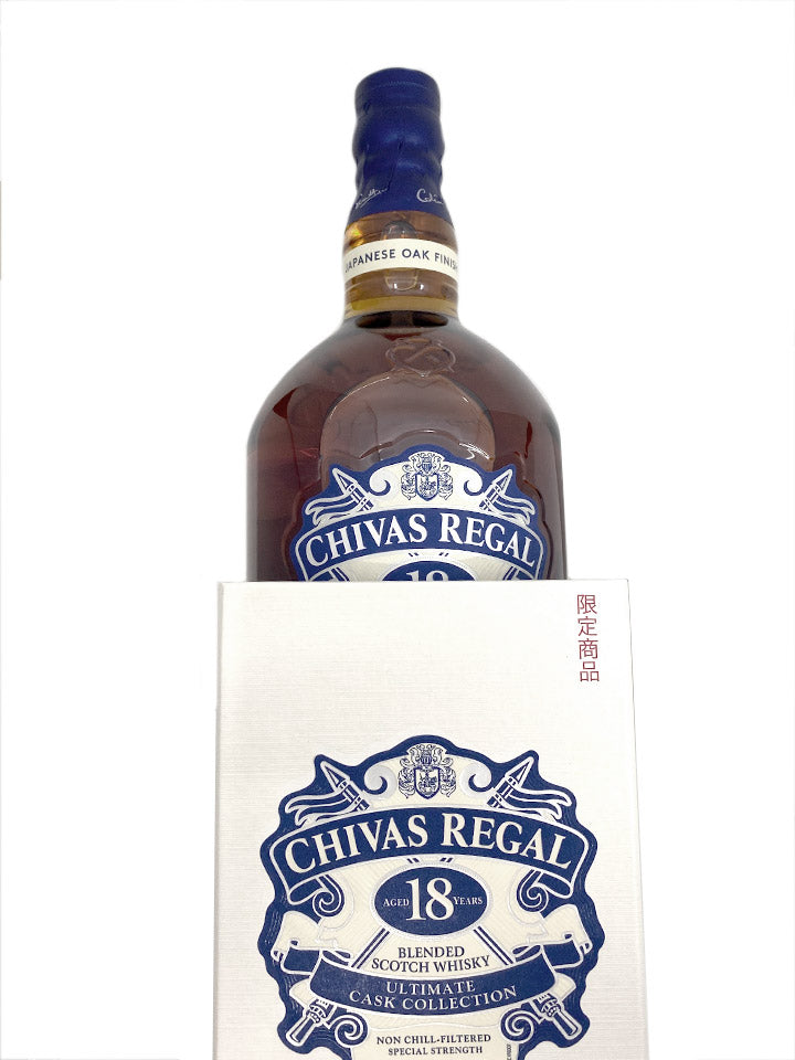 Chivas Regal 18 Limited Edition Japanese Oak Finish Blended Whisky 1L