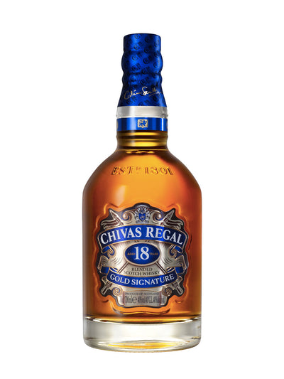 Chivas Regal 18 Year Old Gold Signature Scotch Whisky 700mL