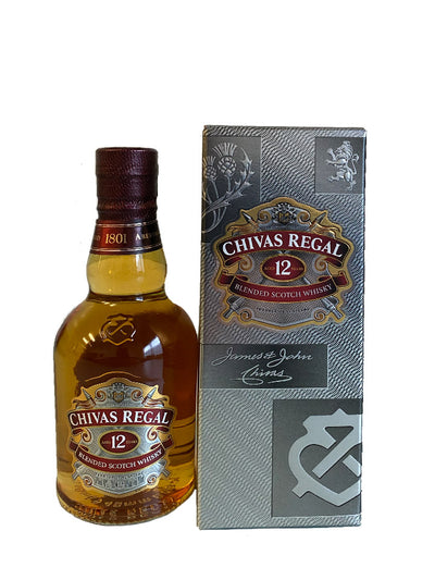 Chivas Regal 12 Year Old Blended Scotch Whisky 200mL