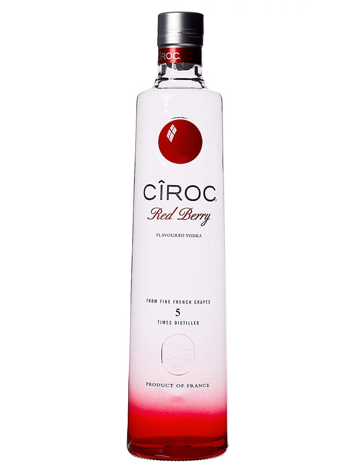 Ciroc Red Berry Flavoured French Vodka 1L