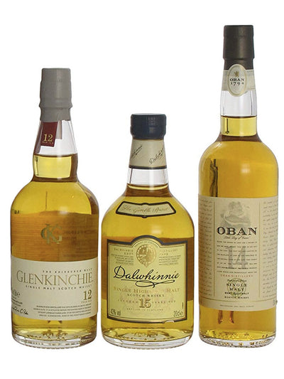 The Classic Gentle Malts Scotch Whisky Collection 200mL x 3