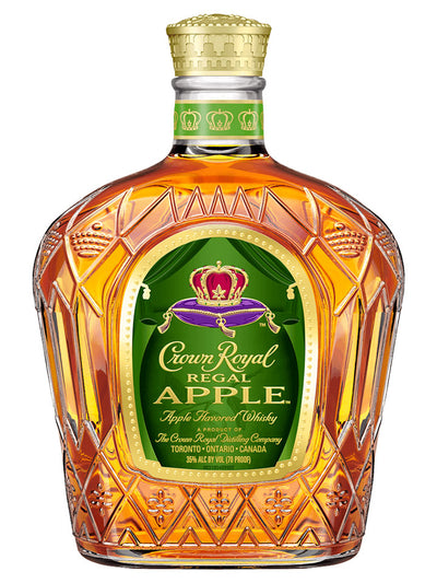 Crown Royal Regal Apple Flavoured Blended Canadian Whisky 1L