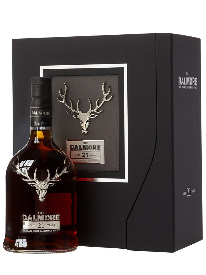 The Dalmore 21 Year Old Highland Single Malt Scotch Whisky 700mL