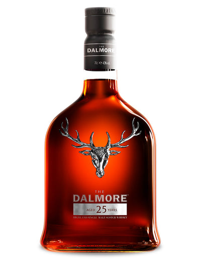 The Dalmore 25 Year Old Highland Single Malt Scotch Whisky 700mL