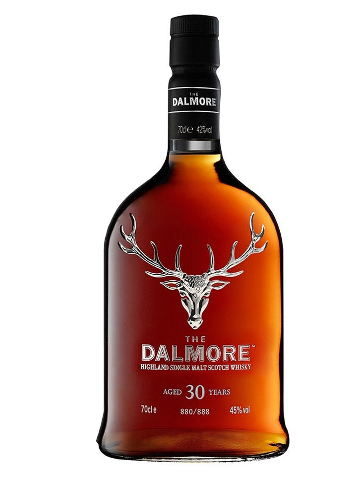 The Dalmore 30 Year Old Highland Single Malt Scotch Whisky 700mL