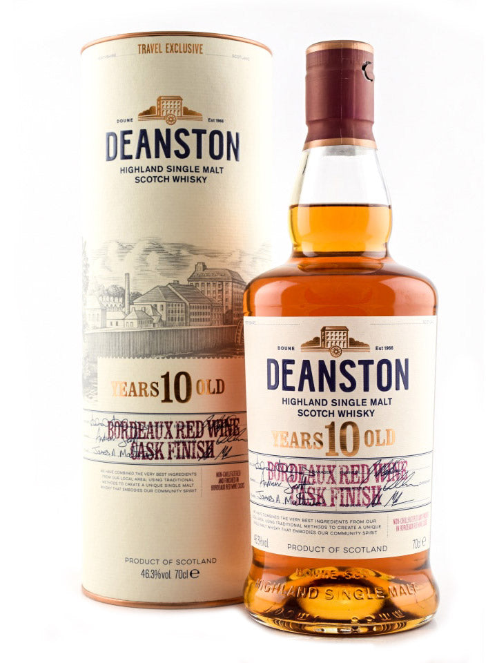 Deanston 10 Year Old Single Malt Scotch Whisky 700mL