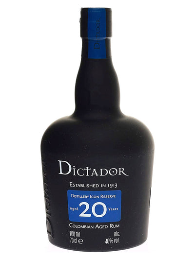 Dictador 20 Year Old Colombian Rum 700mL