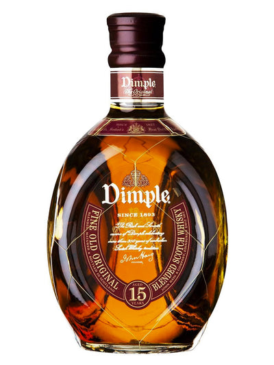 Dimple 15 Year Old Fine Blended Scotch Whisky 1L