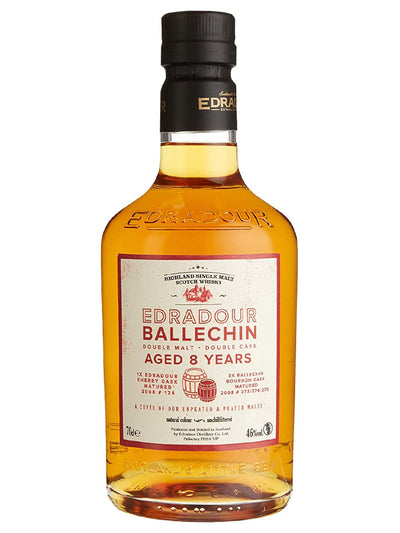 Edradour Ballechin 8 Year Old Cuvee Single Malt Scotch Whisky 700mL