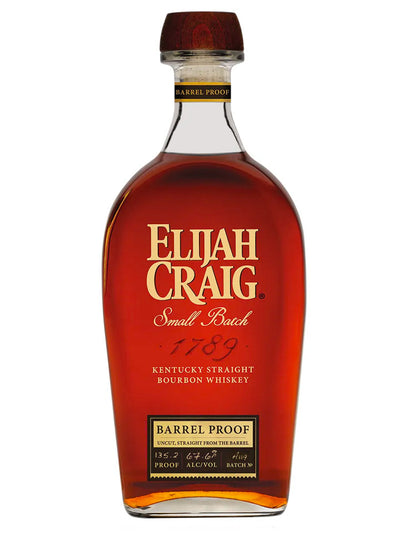Elijah Craig Barrel Proof 67.6% Kentucky Straight Bourbon Whiskey 700mL