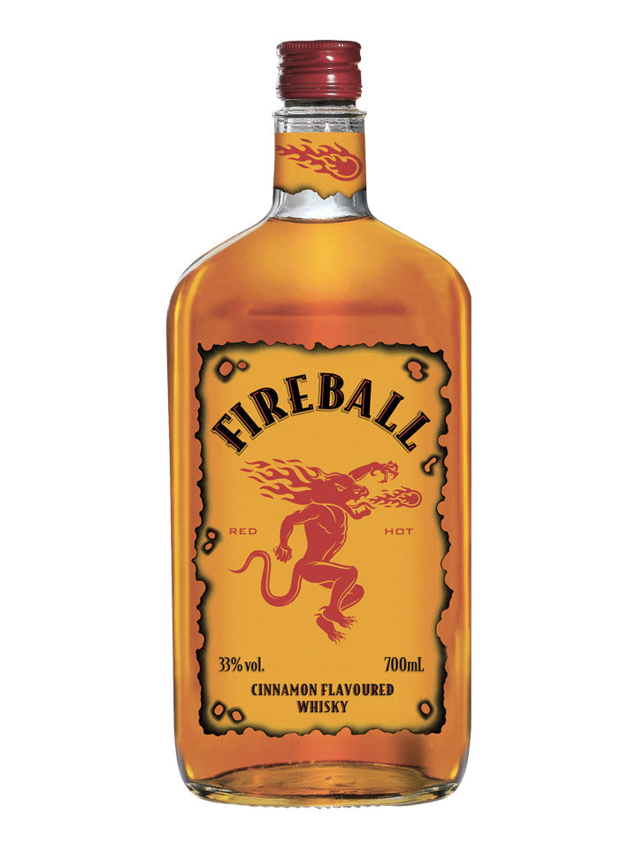 Fireball Cinnamon Flavoured Canadian Whisky 700mL