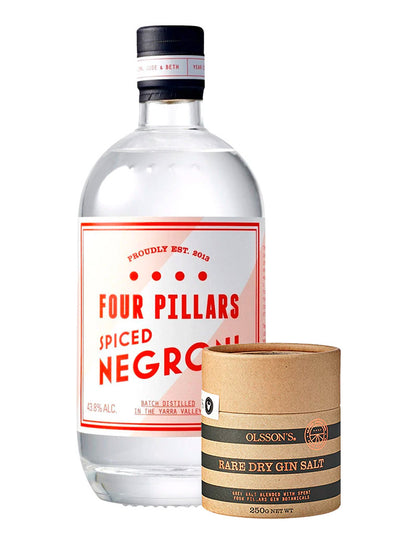 Four Pillars Spiced Negroni Gin + Gin Salt 700mL