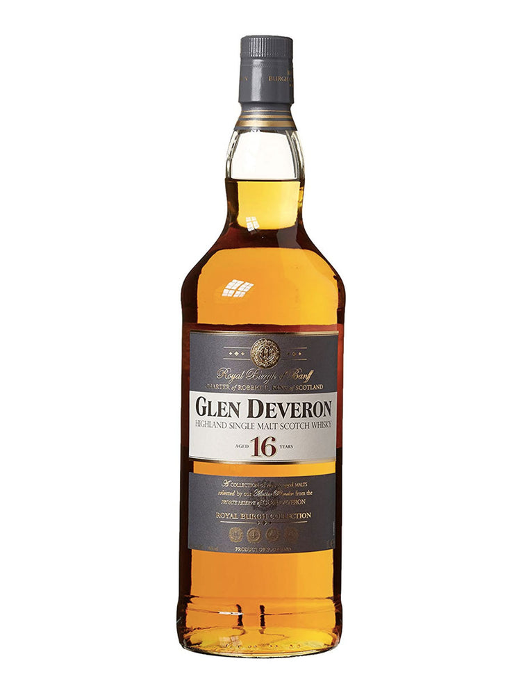 Glen Deveron 16 Year Old Scotch Whisky Single Malt 1L