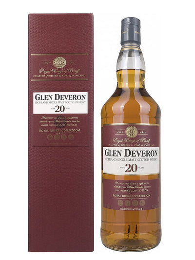 Glen Deveron 20 Year Old Royal Burgh Collection 1L