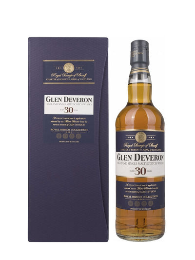 Glen Deveron 30 Year Old Scotch Whisky 750mL