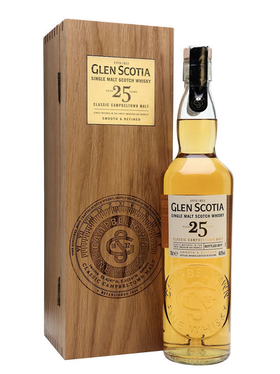 Glen Scotia 25 Year Old Single Malt Scotch Whisky 700mL