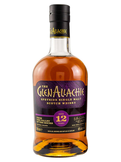 Glenallachie 12 Year Old Speyside Single Malt Scotch Whisky 700mL