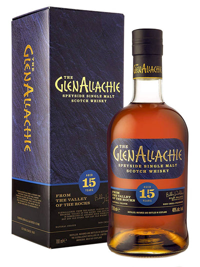 Glenallachie 15 Year Old Speyside Single Malt Scotch Whisky 700mL