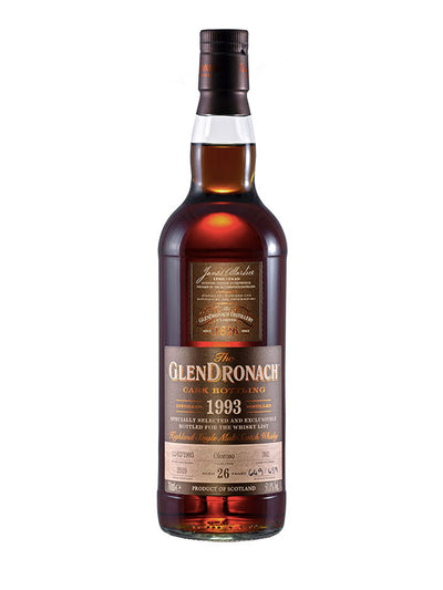 GlenDronach 26 Year Old 1993 Cask #392 Single Malt Scotch Whisky 700mL