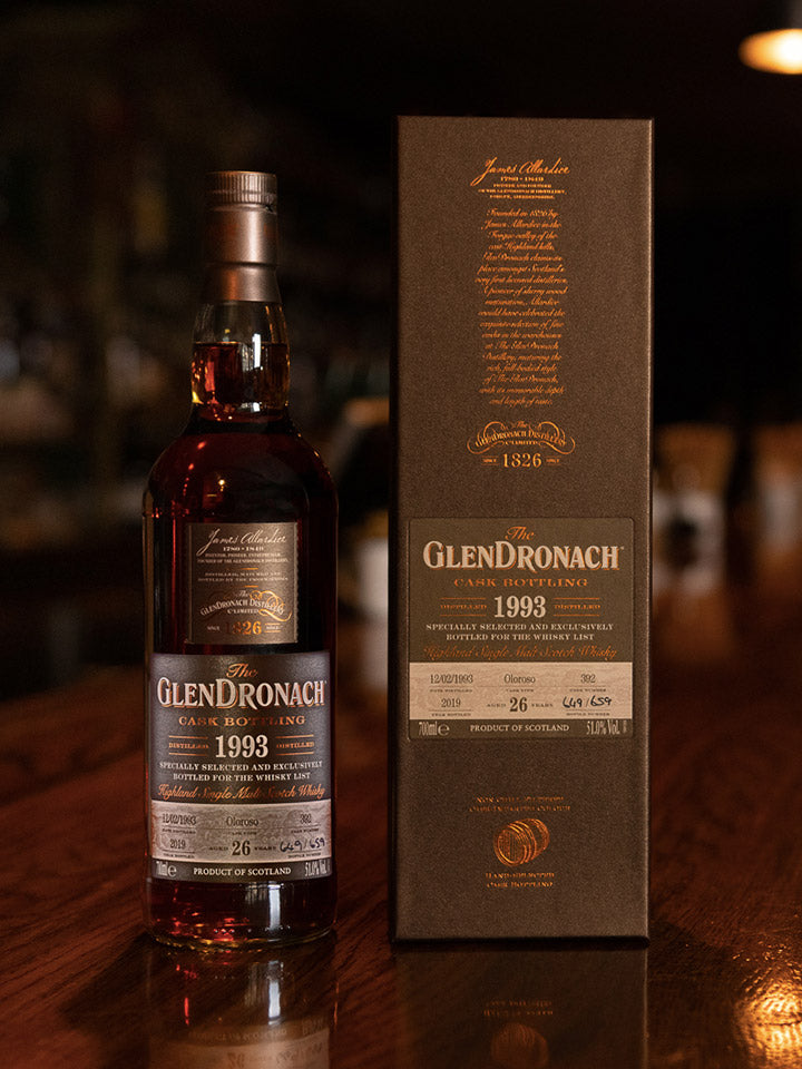 GlenDronach 1993 26 Year Old Scotch Whisky 700mL