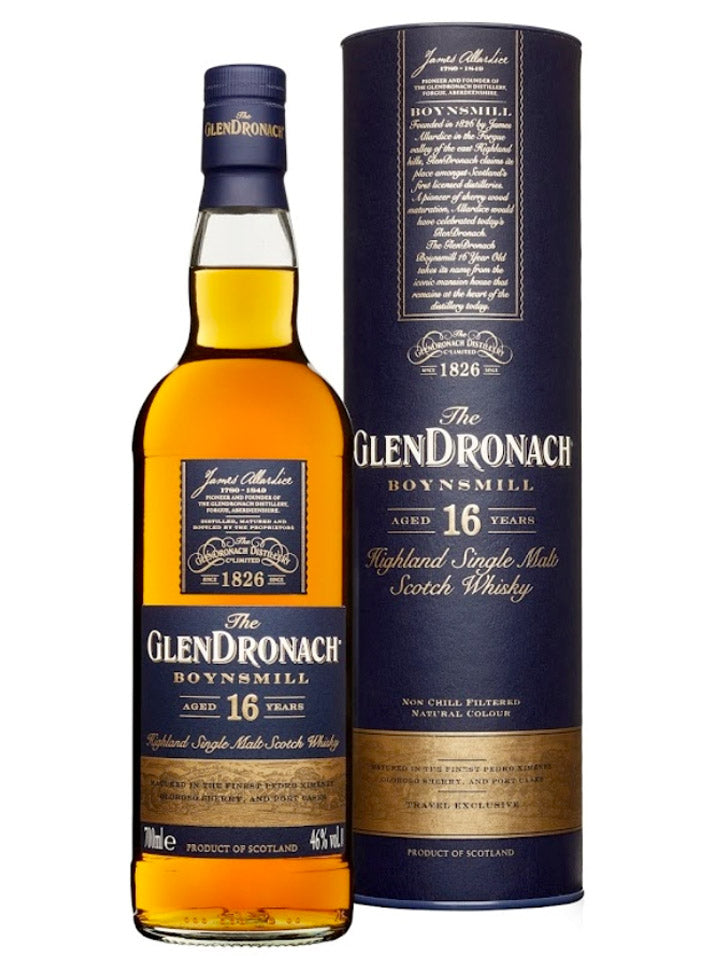 GlenDronach Boynsmill 16 Year Old Single Malt Scotch Whisky 700mL