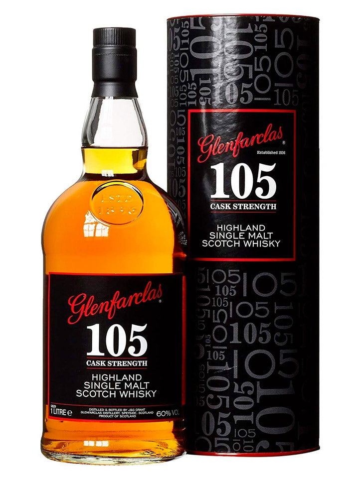 Glenfarclas 105 Cask Strength Single Malt Scotch Whisky 1L