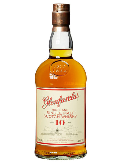 Glenfarclas 10 Year Old Single Malt Scotch Whisky 700mL