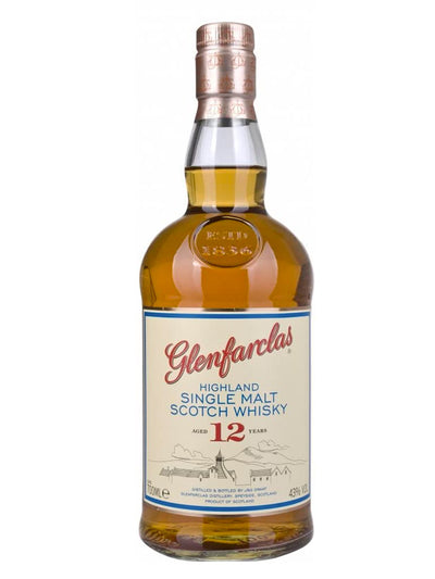 Glenfarclas 12 Year Old Single Malt Scotch Whisky 700mL