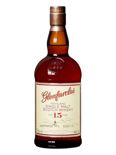 Glenfarclas 15 Year Old Single Malt Scotch Whisky 700mL