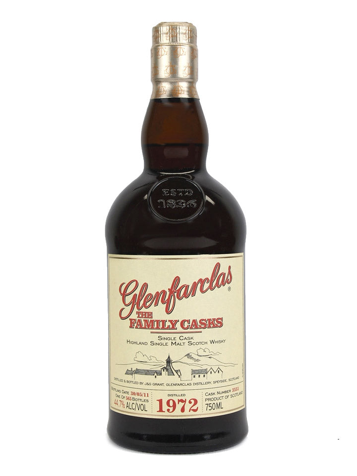 Pre-order: Glenfarclas 1972 Family Casks #3551 Highland Single Malt Scotch Whisky 750mL
