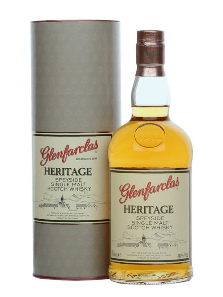 Glenfarclas Heritage Single Malt Scotch Whisky 700mL