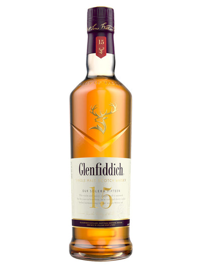 Glenfiddich 15 Year Old Single Malt Scotch Whisky 700mL