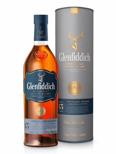 Glenfiddich 15 Year Old Distillery Edition Single Malt Scotch Whisky 1L