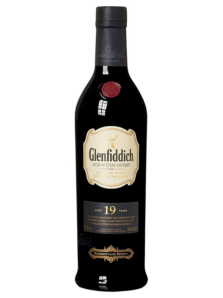 Glenfiddich 19 Year Old Age of Discovery Bourbon Cask Single Malt Scotch Whisky 700mL