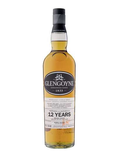 Glengoyne 12 Year Old Single Malt Scotch Whisky 700mL