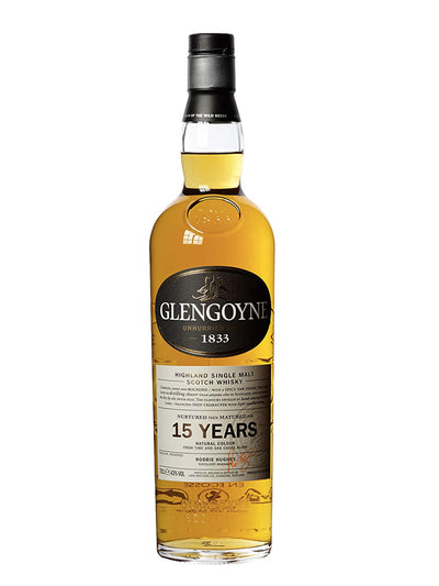 Glengoyne 15 Year Old Single Malt Scotch Whisky 700mL