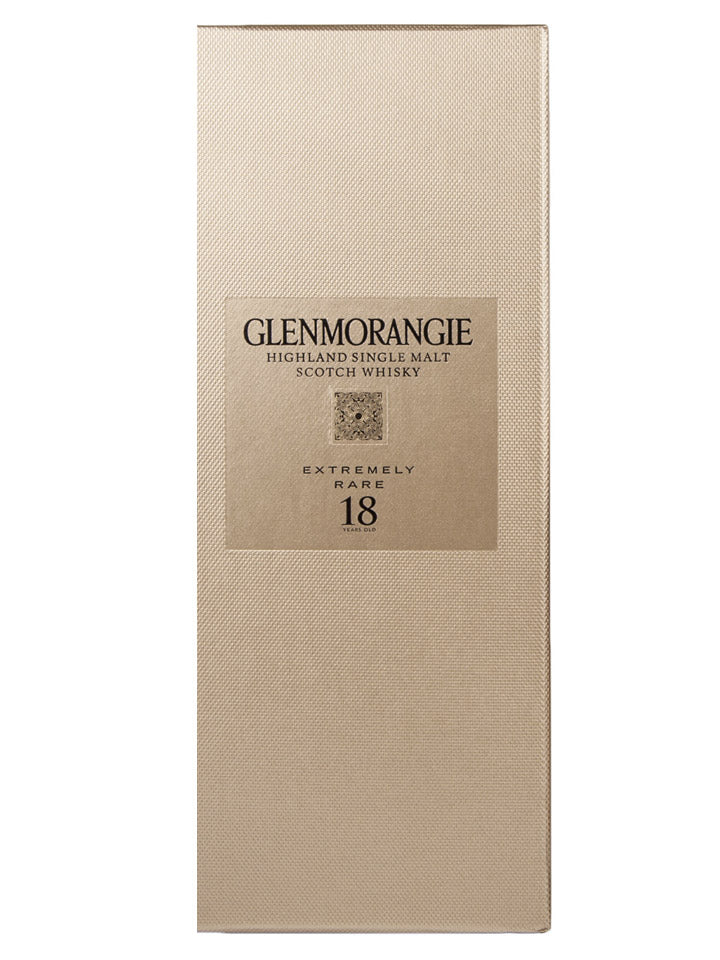 Glenmorangie 18 Year Old Single Extremely Rare Malt Scotch Whisky 700mL