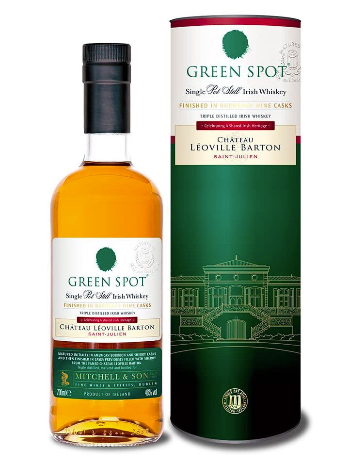 Green Spot Chateau Leoville Barton Single Pot Still Irish Whisky 700mL