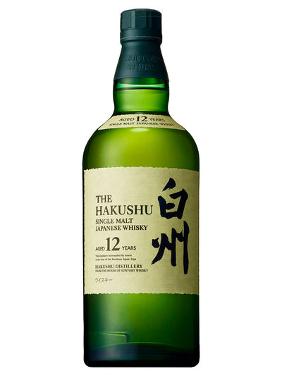 Hakushu 12 Year Old Single Malt Japanese Whisky 700mL