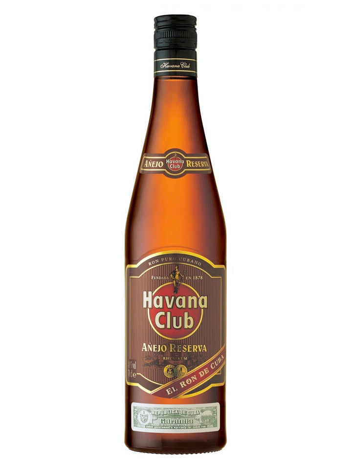 Havana Club Anejo Reserva Cuban Rum 750mL