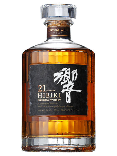 Hibiki 21 Year Old Blended Japanese Suntory Whisky 700mL