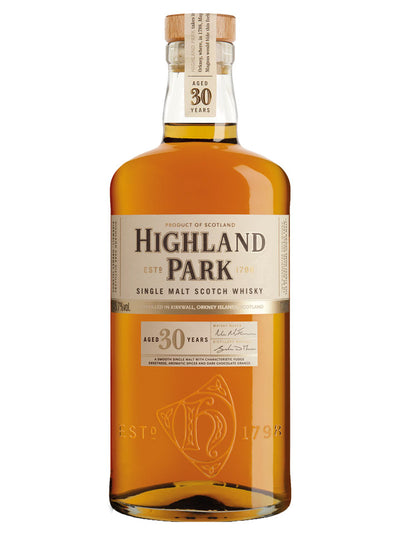 Highland Park 30 Year Old Single Malt Scotch Whisky 700mL