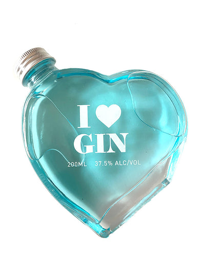 I Love Gin Heart Shaped Bottle 200mL