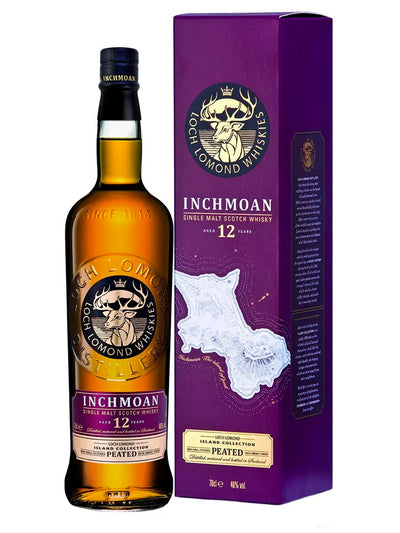 Loch Lomond Inchmoan 12 Year Old Single Malt Scotch Whisky 700mL