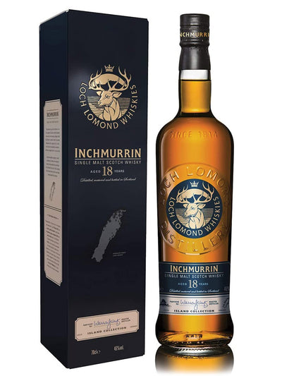 Inchmurrin 18 Year Old Highland Single Malt Scotch Whisky 700mL